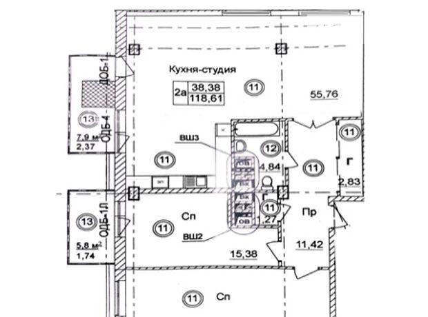 Продажа трехкомнатной квартиры в Одессе, на ул. Отрадная район Приморский фото 1