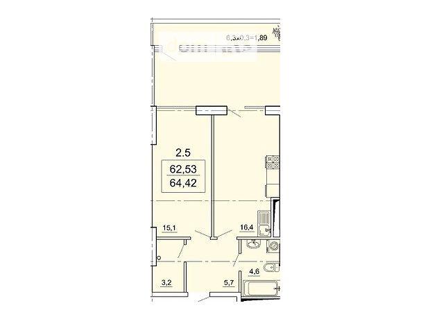 Продажа квартиры, 1 ком., Одесса, р‑н.Приморский, 6 ст.Большого Фонтана