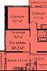 Продажа трехкомнатной квартиры в Одессе, на ул. Среднефонтанская 35 район Приморский фото 3