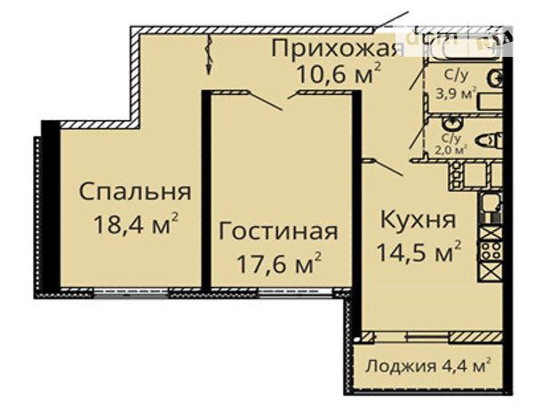 Продажа квартиры, 2 ком., Одесса, р‑н.Приморский, Среднефонтанская