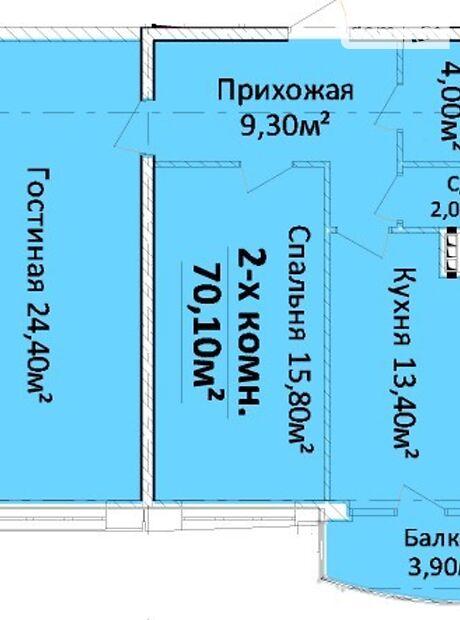 Продажа двухкомнатной квартиры в Одессе, на Гагарина проспект  район Приморский фото 1