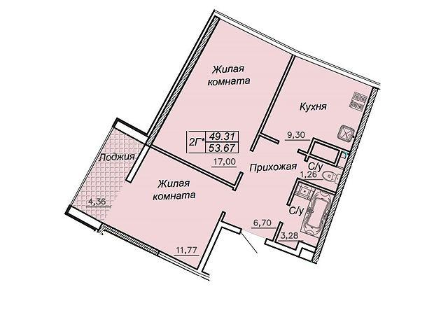 Продажа квартиры, 2 ком., Одесса, р‑н.Приморский, Каманина