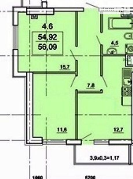 Продажа двухкомнатной квартиры в Одессе, на 6я Фонтана район Приморский фото 1