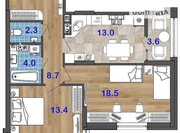 Продажа двухкомнатной квартиры в Одессе, на ул. Генерала Бочарова 45а, район Суворовский фото 1