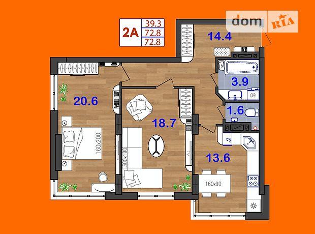 Продажа квартиры, 2 ком., Одесса, р‑н.Суворовский, Генерала Бочарова улица, дом 45а