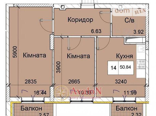 Продажа двухкомнатной квартиры в Одессе, на ЖК «Love» 55 район Суворовский фото 1