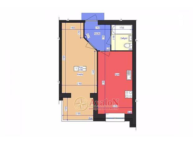 Продаж квартири, 1 кім., Одеса, р‑н.Суворовський