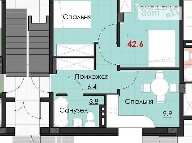 Продажа квартиры, 2 ком., Одесса, р‑н.Таирова, Левитана улица