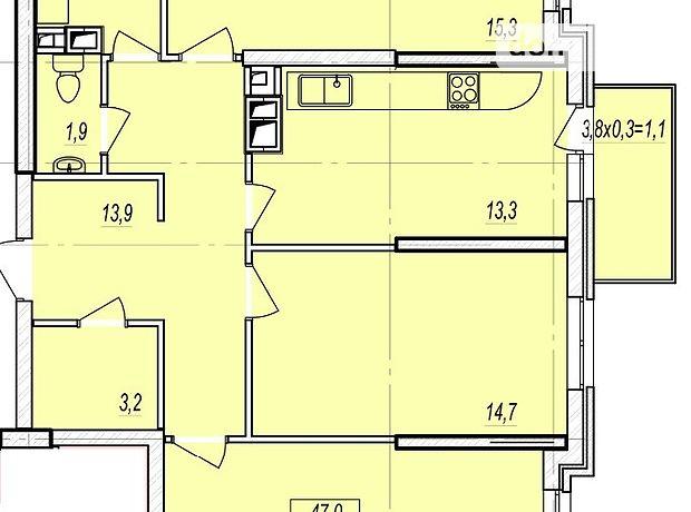 Продажа трехкомнатной квартиры в Одессе, на дор. Люстдорфская район Таирова фото 1
