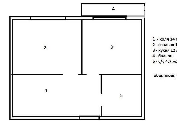 Продажа квартиры, 1 ком., Одесса, р‑н.Центр, Генерала Цветаева улица, дом 11