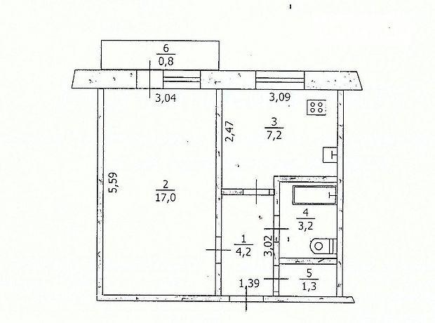 Продажа однокомнатной квартиры в Павлограде, район Павлоград фото 1