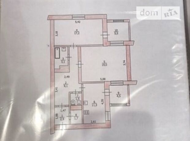 Продажа двухкомнатной квартиры в Павлограде, на Полтавская  93, фото 2