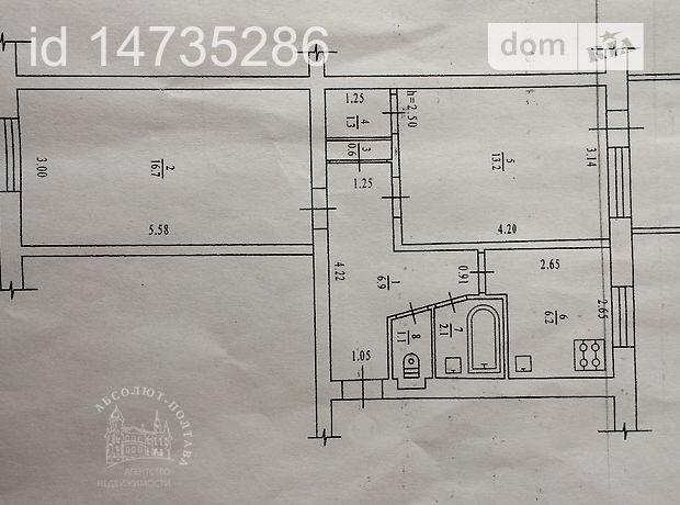 Продажа квартиры, 2 ком., Полтава, р‑н.Институт связи