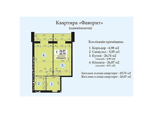Продажа однокомнатной квартиры в Полтаве, на ул. Петровского район Щербани фото 1