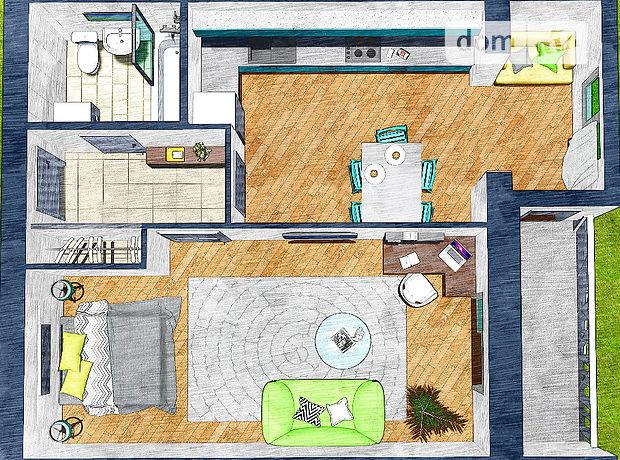 Продаж квартири, 1 кім., Рівне, р‑н.Ювілейний, Корольова вулиця