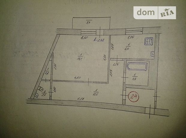 Продажа однокомнатной квартиры в Рубежном, фото 1