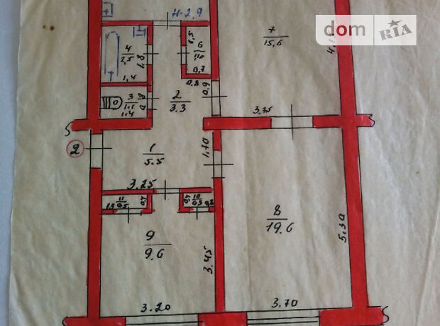 Продажа трехкомнатной квартиры в Шевченкове, на 40 лет Победы район Старовировка фото 2