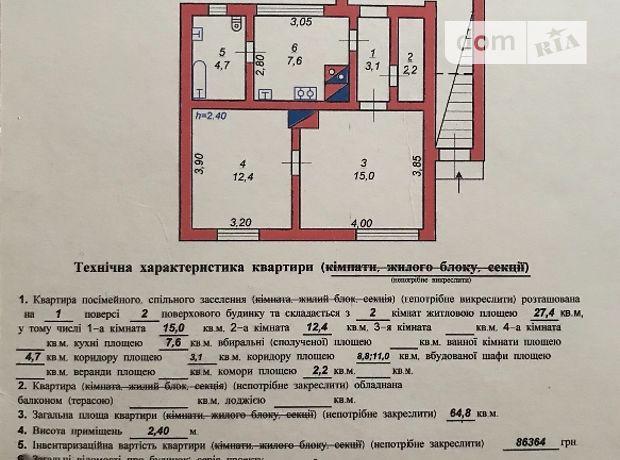 Продажа квартиры, 2 ком., Львовская, Стрый, р‑н.Стрый, Успенская