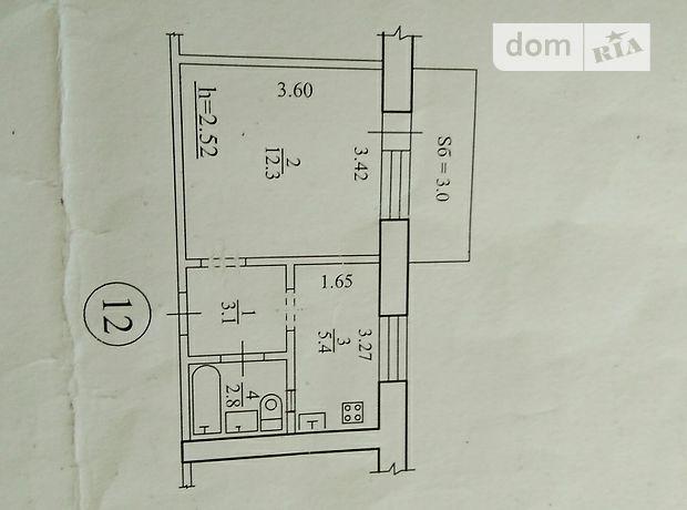 Продажа квартиры, 1 ком., Сумы, р‑н.Роменский, Роменская улица, дом 110