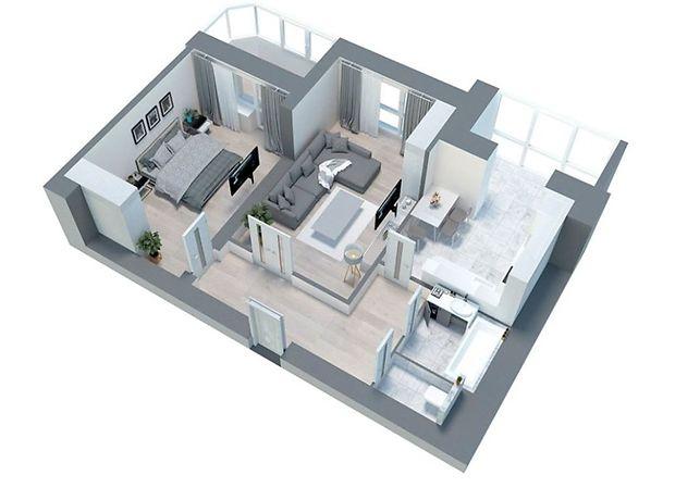 Продажа двухкомнатной квартиры в Сумах, на Харьковская, кв. 10, район Заречный фото 1