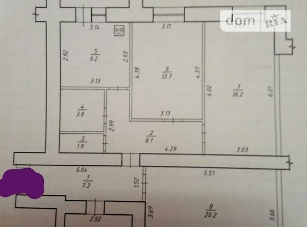 Продажа трехкомнатной квартиры в Сумах, на ул. Прокофьева 16, район Заречный фото 1