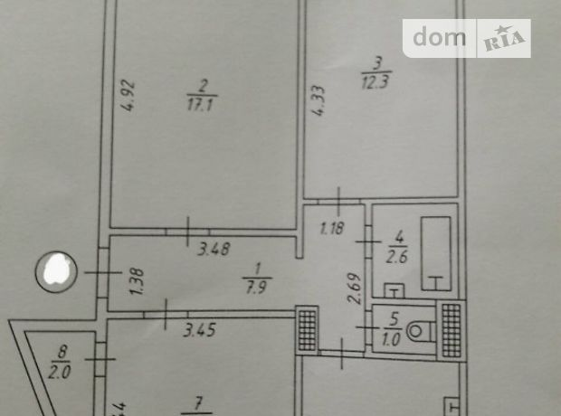 Продажа квартиры, 3 ком., Сумы, р‑н.Ковпаковский, Ильинская улица