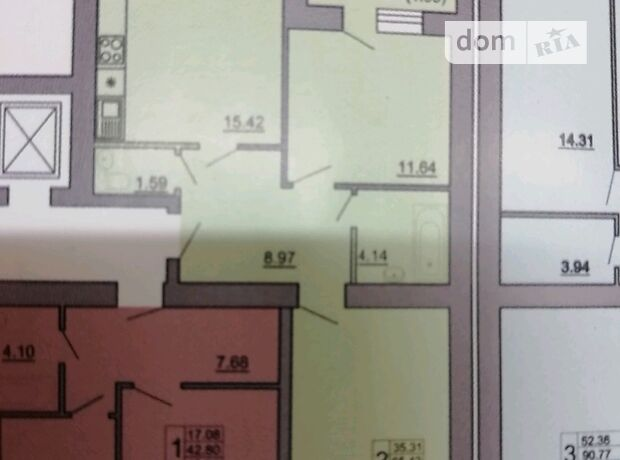 Продажа двухкомнатной квартиры в Тернополе, на ул. Владимира Великого район Аляска фото 1