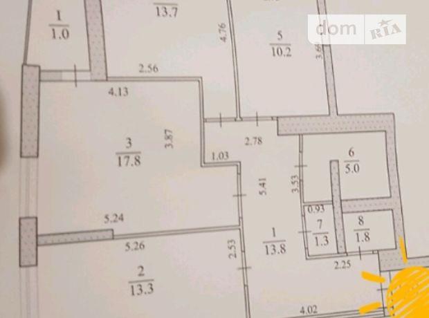 Продажа трехкомнатной квартиры в Тернополе, район Аляска фото 2