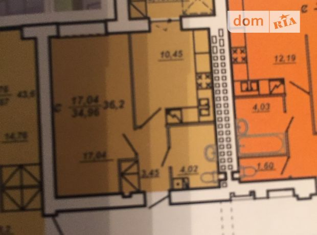 Продажа однокомнатной квартиры в Тернополе, на Текстильна-яреми 1, район Аляска фото 1