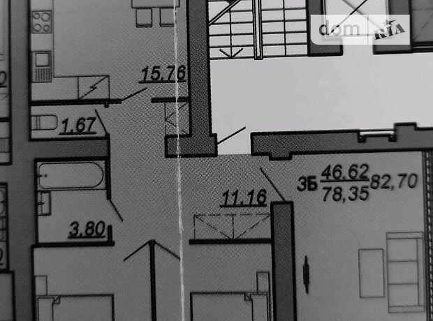 Продажа трехкомнатной квартиры в Тернополе, район Авторынок фото 2