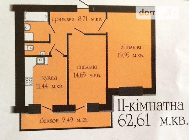 Продажа квартиры, 2 ком., Тернополь, р‑н.Бам, Головацкого улица