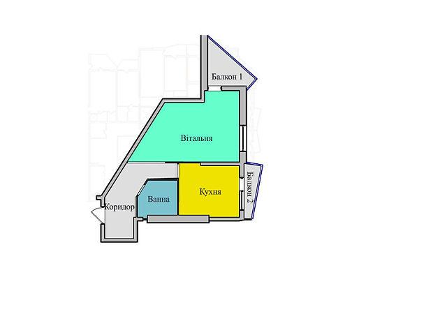 Продажа квартиры, 1 ком., Тернополь, р‑н.Бам, Київська, дом 8А