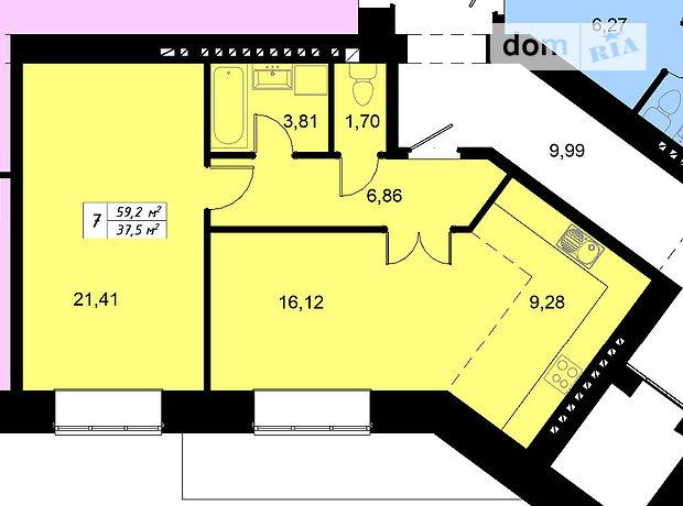 Продаж квартири, 2 кім., Тернопіль, р‑н.Бам