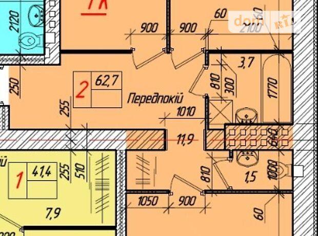 Продажа двухкомнатной квартиры в Тернополе, на ул. Глубокая Долина район Дружба фото 1