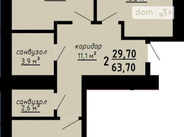 Продажа однокомнатной квартиры в Тернополе, на Кирпичный переулок район Дружба фото 1