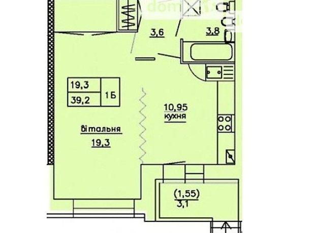 Продаж квартири, 1 кім., Тернопіль, р‑н.Дружба, Глибока Долина біля Монако