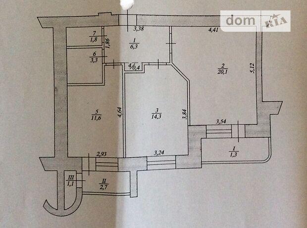 Продажа двухкомнатной квартиры в Тернополе, на Коновальца Евгения улица 5 район Канада фото 2