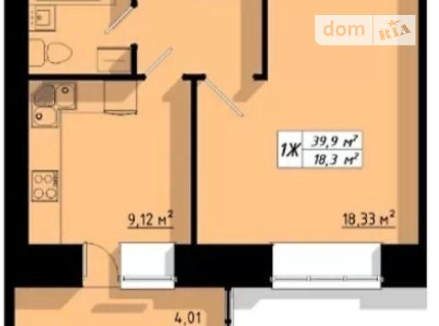 Продажа однокомнатной квартиры в Тернополе, на ул. Бенцаля район Кутковцы фото 1