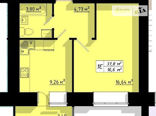Продажа однокомнатной квартиры в Тернополе, на ул. Бенцаля 7, район Кутковцы фото 1
