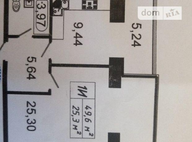 Продажа квартиры, 1 ком., Тернополь, р‑н.Новый свет, Котляревского улица, дом 67