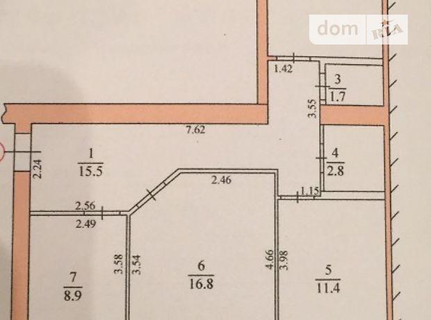 Продажа трехкомнатной квартиры в Тернополе, на ближній район Новый свет фото 1