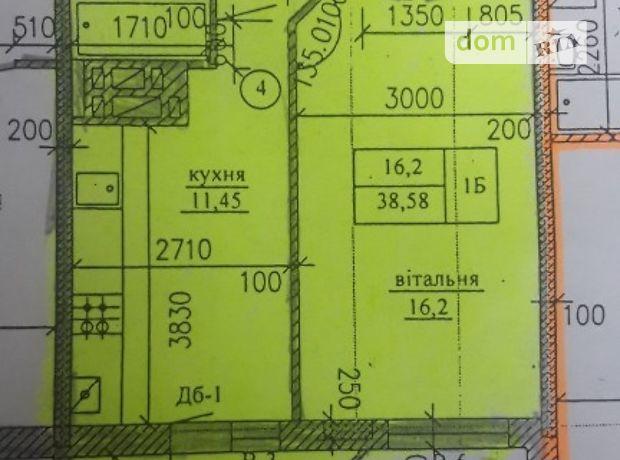 Продажа однокомнатной квартиры в Тернополе, на ул. Белогорская район Оболоня фото 2