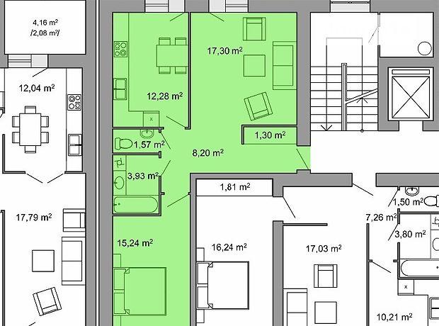 Продажа двухкомнатной квартиры в Тернополе, на ул. Воинов УПА район Петриков фото 1