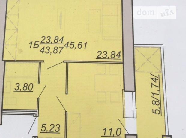 Продажа однокомнатной квартиры в Тернополе, на ул. Микулинецкая район Сахарный завод фото 1