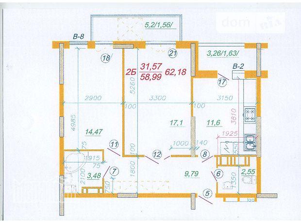 Продажа квартиры, 2 ком., Тернополь, р‑н.Схидный, Бандери
