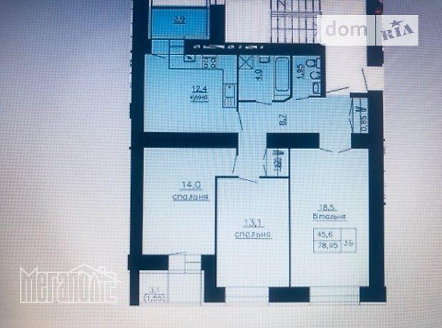 Продаж квартири, 3 кім., Тернопіль, р‑н.Східний, Польового