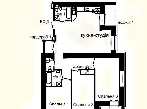 Продажа трехкомнатной квартиры в Тернополе, на Варшавський квартал район Восточный фото 1