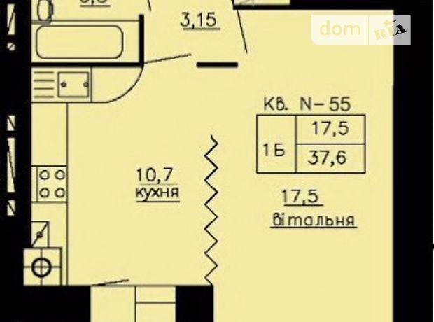 Продажа квартиры, 1 ком., Тернополь, р‑н.Схидный, Підволочиське шосе