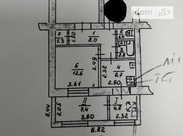 Продажа двухкомнатной квартиры в Тернополе, на р-н 14 школи район Схидный фото 1