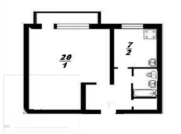 Продажа квартиры, 1 ком., Тернополь, р‑н.Солнечный, 15-го Апреля улица
